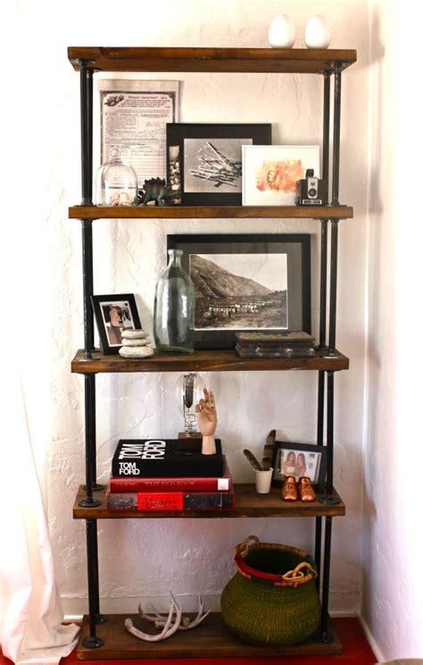 pipe shelf house call diy pipe shelves pipe