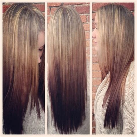 reverse ombre but only at the very bottom a different take on ombre reverse katie hrubec minalga