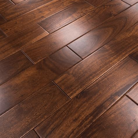 stained lacquered 18x123mm solid asian walnut flooring