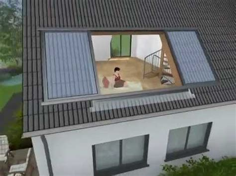 dachschiebefenster lideko roof sliding window youtube