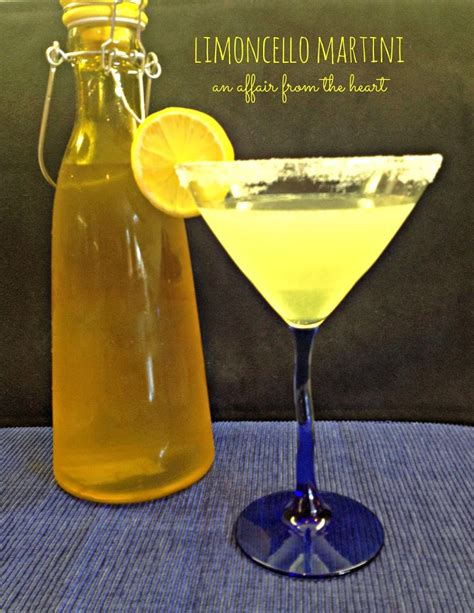 martini limoncello limoncello martini an affair from the