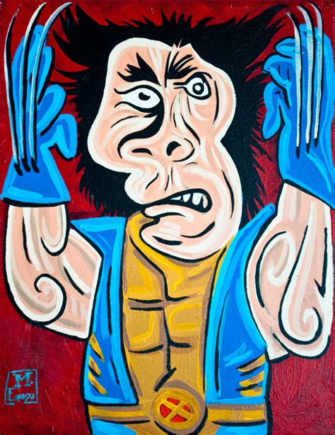 pablo picasso style picasso superheroes by mike esparza