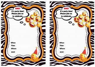 Emoji Birthday Invitations Birthday Printable Emoji Birthday Invitation Template Free