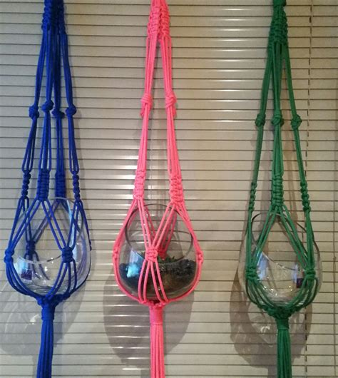 Macrame String - hanging macram 233 string rope pot or plant hanger