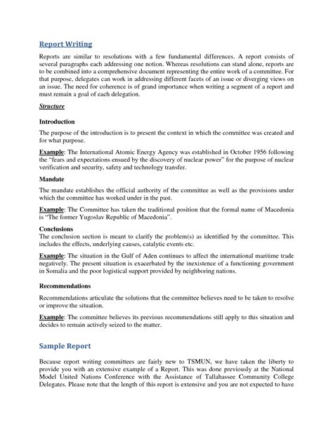 report writing format template best photos of exle of a report sle lab report