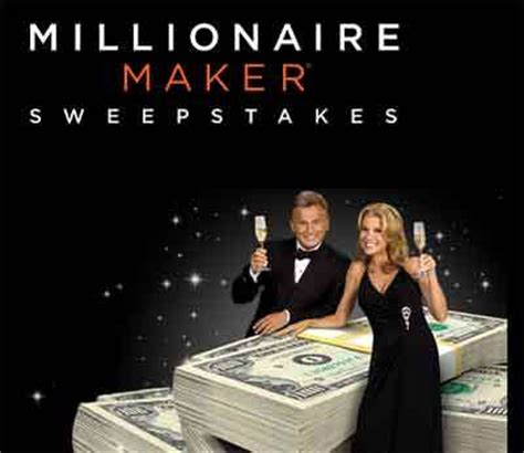 wheeloffortune com millionairemaker wheel of fortune millionaire maker sweepstakes - Wheel Of Fortune Million Dollar Sweepstakes
