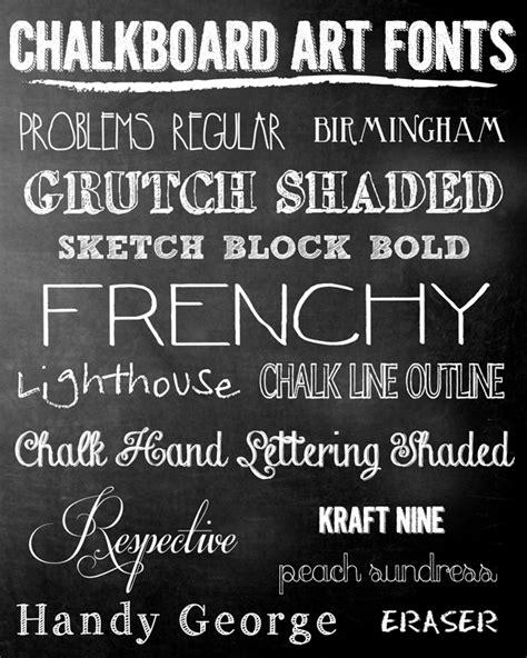 dafont chalk pen paper flowers inspire free chalkboard fonts