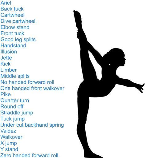 Alphabet Gymnastics Challenge | abc gymnastics challenge gymnastics pinterest