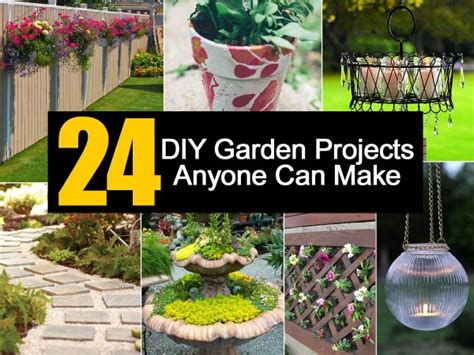Gardening Diy Ideas 24 Diy Garden Projects Anyone Can Make
