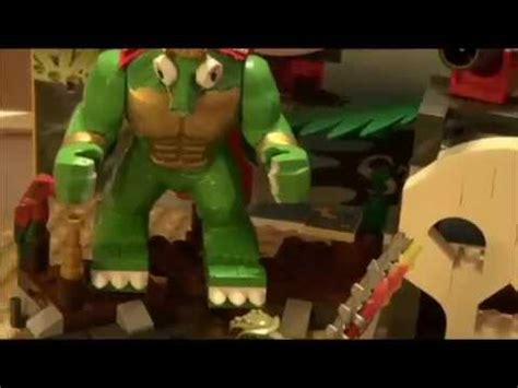 king k rool figure updated look at custom lego king k rool custom k nex