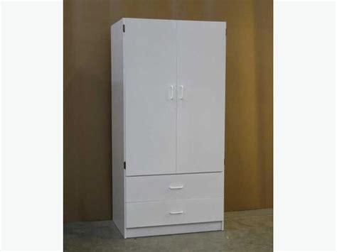 Pre Assembled Wardrobe Closets White Wardrobe Closet Armoire Brand New Richmond