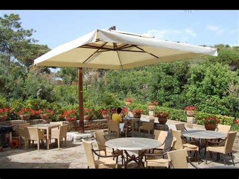 large patio umbrellas large patio umbrella clearance youtube