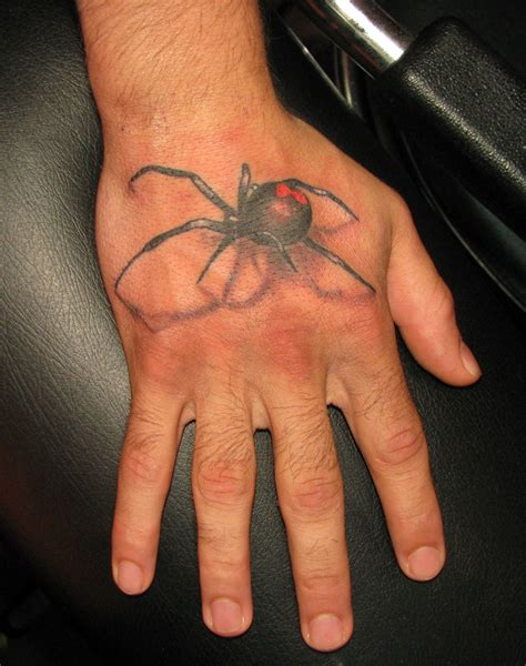 black widow spider tattoo spider tattoos on spider black widow