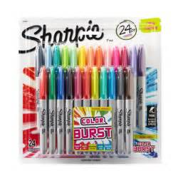 colored permanent markers shop for the sharpie 174 color burst point permanent