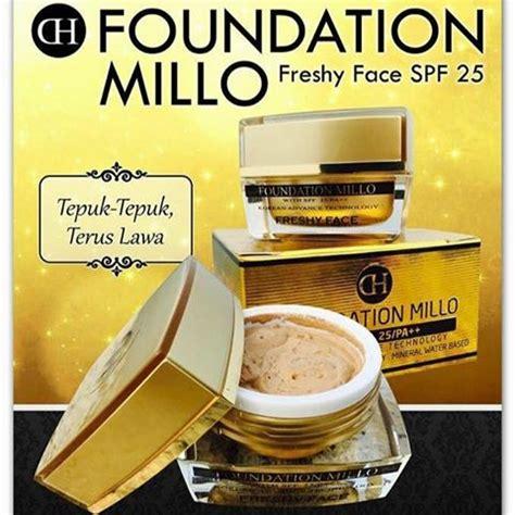dh millo foundation freshy face spf  tepuk tepuk