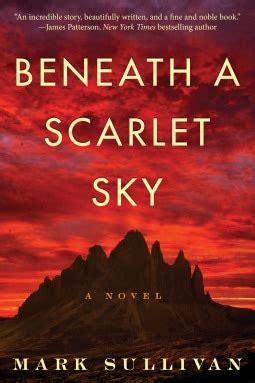 Beneath A Scarlet Sky A Novel books spoons tour event for beneath a scarlet sky by