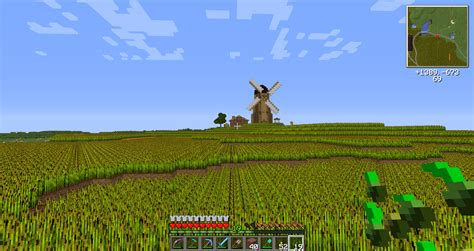Small Farmhouse Designs a while back i started working on a wheat biome on the