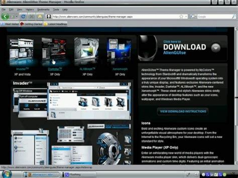 xp tutorial youtube alienware theme xp download tutorial youtube