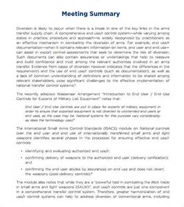 meeting recap template sle meeting summary template 7 documents in pdf