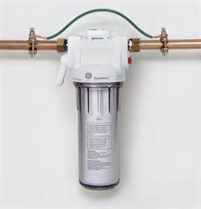 home water filter systems single sump whole home filtration system gxwh20s ge