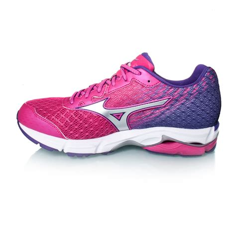 mizuno wave rider womens running shoes mizuno wave rider 19 womens running shoes fuchsia