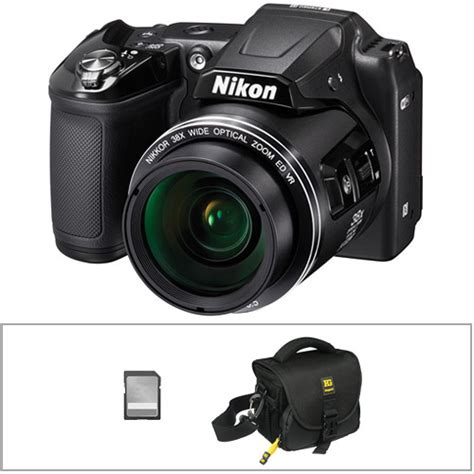 nikon coolpix l840 digital with accessories kit black