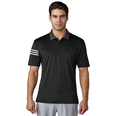 Adidas Climacool S 3 adidas climacool 3 stripe club polo mens golf shirt new