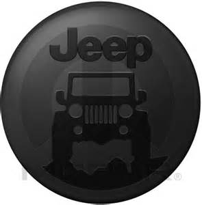 jeep quot on the rocks quot hardshell molded spare tire cover