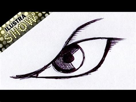 imagenes ojos furiosos como dibujar un ojo comic furia enojo malvado sencillo