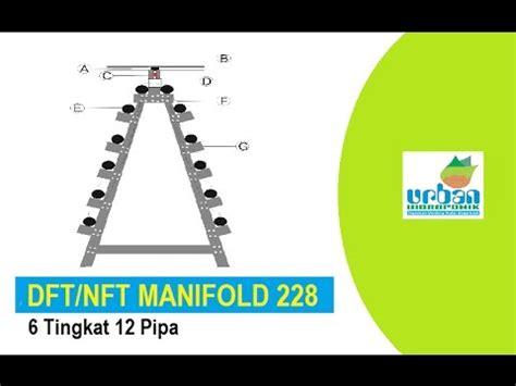 Jual Manifold Hidroponik jual hidroponik dft nft manifold 6 tingkat