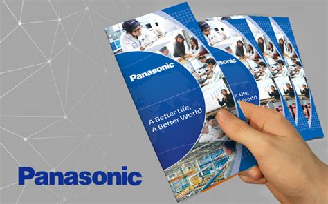graphic design company profile sle panasonic brochure graphic design company profile