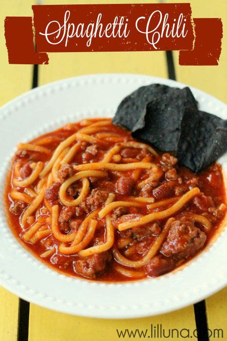 Chilli Keeper spaghetti chili this recipe is definitely a keeper so