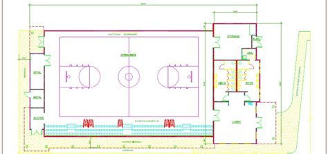 basketball gym floor plans bruce hart fieldbrook community gymnasium fundraising to