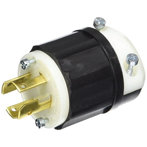 leviton 30 120 208 volt 3 phase locking grounding