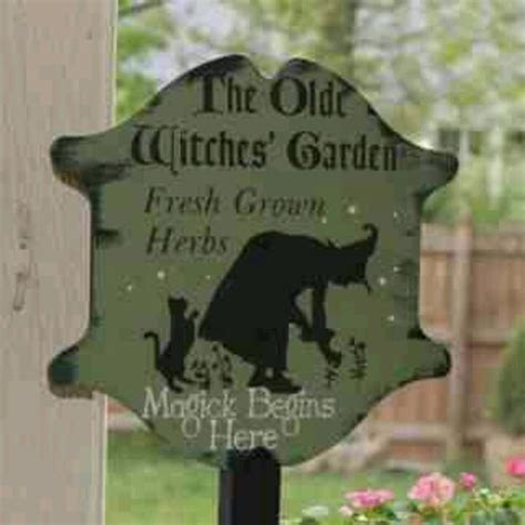 Herb Garden Signs by Herb Garden Sign Wiccan