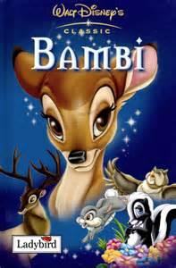 bambi ladybird book walt disney gloss hardback 2003