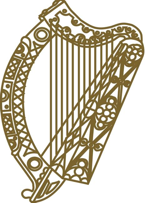 irish harp tattoo designs harp inside the on the claddagh my