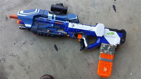 DIY NERF Rayven Halo MA5D Mod: Foam Dart Evolved   Technabob