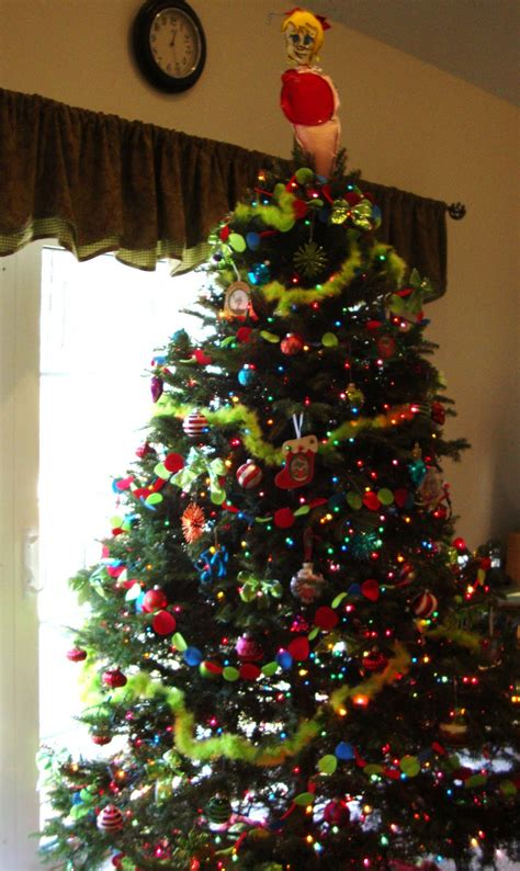 colorful ideas grinch tree decorations
