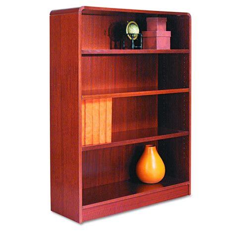 Bookcase Mc Alera Radius Corner Bookcase 4 Shelf 36x48 Mc Each