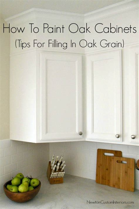 painting oak kitchen cabinets how to paint oak cabinets