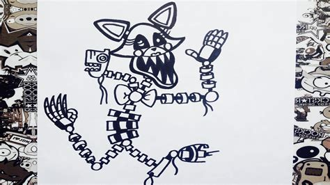 five nights at freddy s coloring book great coloring pages for and adults unofficial edition books como dibujar a mangle de five at freddy s how to