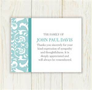 funeral thank you cards templates 9 funeral thank you notes psd pdf