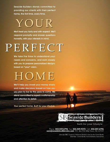 seaside builders ad