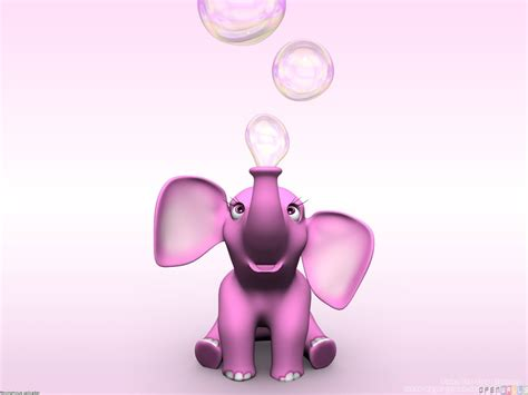 Pink Elephant Wallpaper | pink elephant wallpaper 17716 open walls