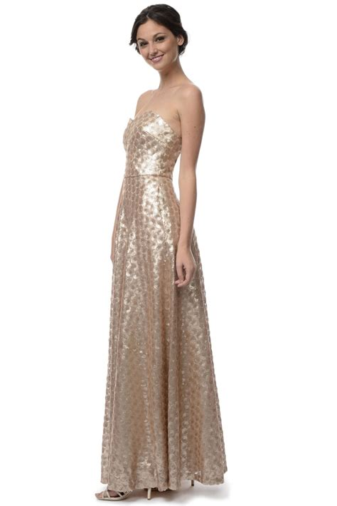 Gold Bridesmaid Dress by Gold Sequin Bridesmaid Dress Sang Maestro