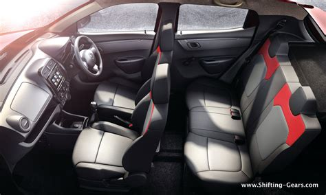renault kwid interior seat renault kwid test drive review shifting gears