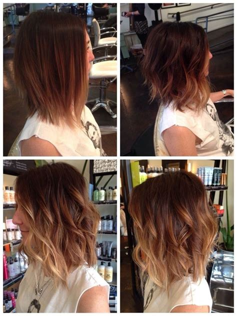 how to ombre shoulder length hair 15 pretty hairstyles for medium length hair popular haircuts