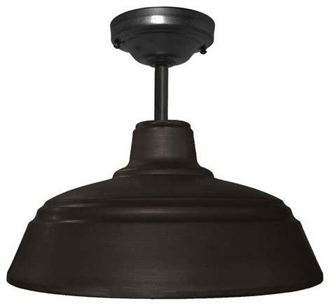 black farmhouse pendant light metal farmhouse 14 quot industrial black downrod pendant light
