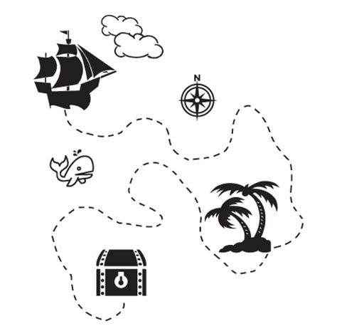 pirate treasure map wall quotes decal wallquotescom